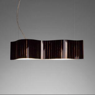 pendelleuchte vento l nge 58cm verschiedene farbkombinationen wohnlicht. Black Bedroom Furniture Sets. Home Design Ideas