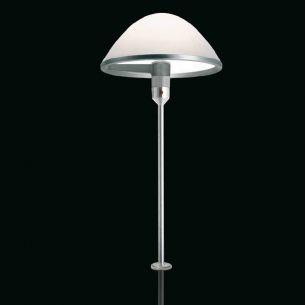 Designerleuchte MIRANDA von LUCEPLAN mit Befestigungsstift - Dimmer oder EIN-AUS-Schalter - Opalglas
