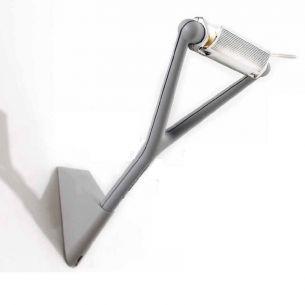Designer Wandleuchte LOLA von LUCEPLAN - in aluminiumfarben aluminiumfarben