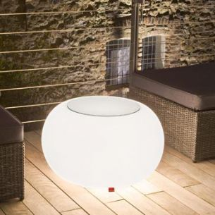 Bubble Outdoor mit Glasplatte von Moree, IP44