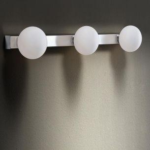 Badleuchte, IP44, 3 flammig, ideale Badbeleuchtung mit Energiesparleuchtmittel