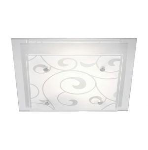 Deckenleuchte mit Ornamentik, 24 x 24cm 1x 60 Watt, 7,50 cm, 24,00 cm, 24,00 cm