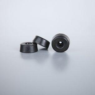 3 Abstandshalter für Bodenplatte zu Kugelleuchten - zur seitlichen Kabelführung auf ebenen Boden