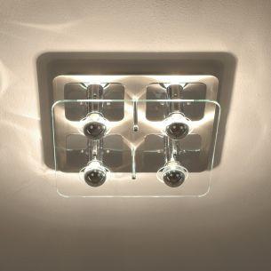 deckenleuchte mit kopfverspiegelten leuchtmitteln 3. Black Bedroom Furniture Sets. Home Design Ideas