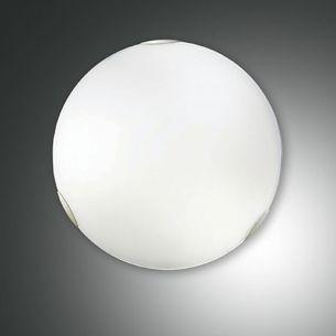 Glas-Deckenleuchte weiß, 50 cm 3x 40 Watt, 50,00 cm