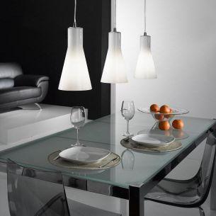 Pendelleuchte, design by S.T Fabas Luce, 3flammig