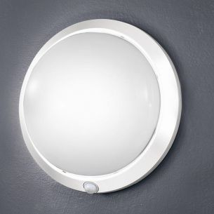 Sensorleuchte Weiß, 30 cm, Infrarotsensor