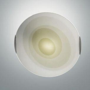 Deckenleuchte Glas 40 cm, in Grün grün, satiniert/mit Farbverlauf