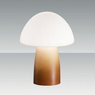 amber/weiß, mit Farbverlauf