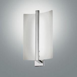 LED-Wandleuchte, satiniert Glas