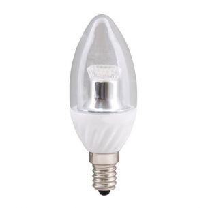E14 LED Kerzenlampe klar, C35, 4 Watt