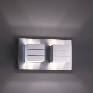 design wandleuchte liva in aluminium matt oder wei wohnlicht. Black Bedroom Furniture Sets. Home Design Ideas