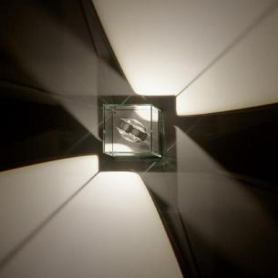 LED- Wandleuchte LOGOS 12 CUBE Out LED, effektvolle Lichtgestaltung für den Aussenbereich