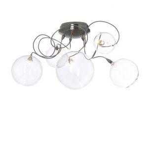 Design Deckenleuchte, Bubbles mit 3 oder 5 mundgeblasenen Glasbällen
