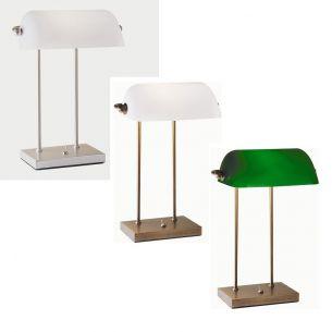 Bankerlampe in 3 Varianten - mit Kippschalter