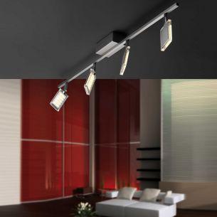 Deckenstrahler mit modernster LED-Technik, inklusive 4 x 5W High-Power LED-Board
