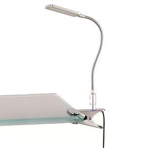 Futuristische LED-Klemmleuchte - Inklusive Berührungsschalter