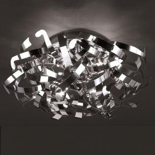 Extravagante Deckenleuchte - Aluminium - 3-flammig