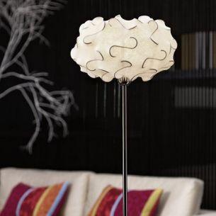 Standleuchte Pinneti mit Cocoon Schirm