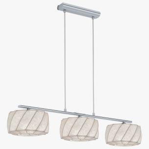 Fantastische Erleuchtung in einer neuen wegweisende Design-Entwicklung- Leuchtenserien mit futuristischem Flair - Cocoon-Balkenpendel 3-flammig