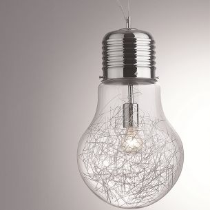 moderne kugel pendelleuchte opalglas 4 gr en wohnlicht. Black Bedroom Furniture Sets. Home Design Ideas