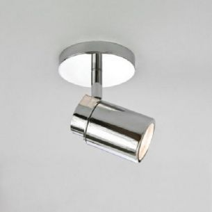 Strahlerserie - Deckenstrahler 1-flammig - Chrom glänzend