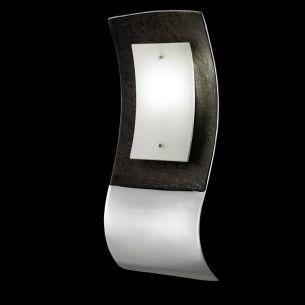 Formschöne designorientierte Wandleuchte - Leuchtenserie - Dunkelbraun