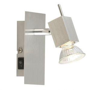 Wandstrahler,1 flammig, mit GU10 Leuchtmittel, auch LED und Energiespar- Leuchtmittel geeignet