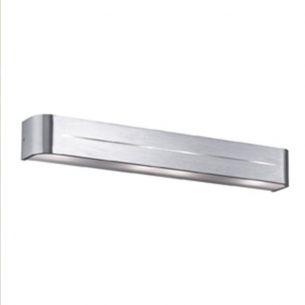 Wandleuchte Länge 62cm in aluminium gebürstet, chrom oder weiß erhältlich