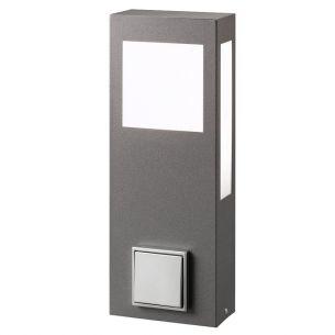 moderne wegeleuchten pollerleuchten mit steckdosen wohnlicht. Black Bedroom Furniture Sets. Home Design Ideas