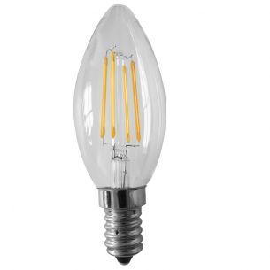 C35 LED Kerze 3 Watt  E14 230V - entsprechen 35 Watt, Fadenleuchtmittel