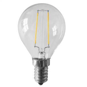 D45 LED Tropfen 2 Watt  E14 230V - entsprechen 25 Watt, Fadenleuchtmittel