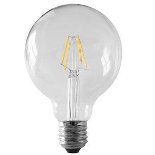 G95 Globe LED 6 Watt  E27 230V - entsprechen 50 Watt, Fadenleuchtmittel