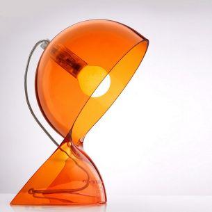 1x 25 Watt, orange/transparent