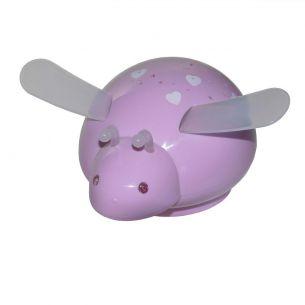 LED-Nachtlicht Starbee pink