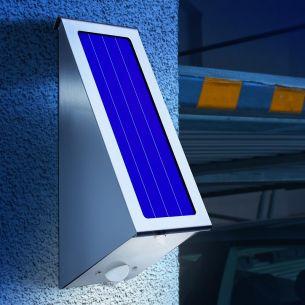 LED Solarleuchte mit Bewegungssensor, Lichtfarbe 6000 K