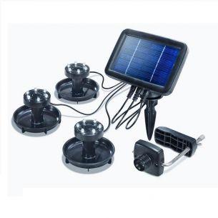 LED Unterwasser Solar-Strahler für seichtes Gewässer