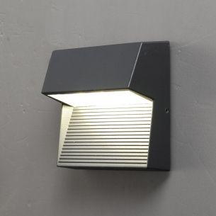 led wandleuchte 2 flg mit led 2 x 4 watt in zwei farben wohnlicht. Black Bedroom Furniture Sets. Home Design Ideas