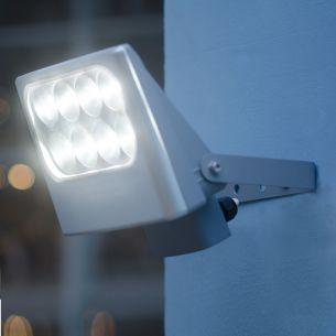 LED-Strahler, IP54, 8x3Watt, 4100K, Lichtfarbe neutralweiß, schwenkbar
