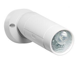 LED-Strahler in weiß mit Sensor 120°  batteriebetrieben