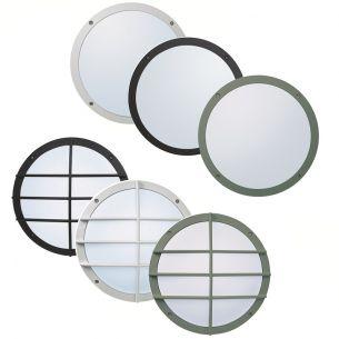 robuste Wand-/Deckenleuchte in 3 Farben inklusive LED-Ring, 9,6W, warmton, IP55