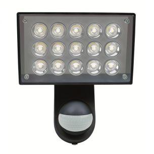schwarz, LED warmweiß