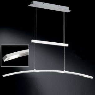 LED Zugpendelleuchte, inklusive 4x Citizen Power LEDs 5 Watt, 2700K warmweiß, je 280 Lumen