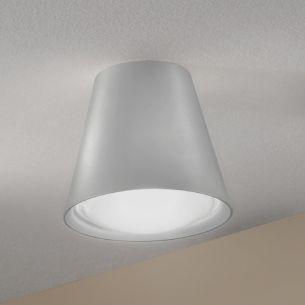Lichtstarke LED-Deckenleuchte in weiß weiß