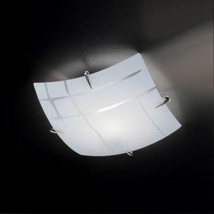 Deckenleuchte in 30x30 cm 1x 42 Watt, 30,00 cm, 30,00 cm
