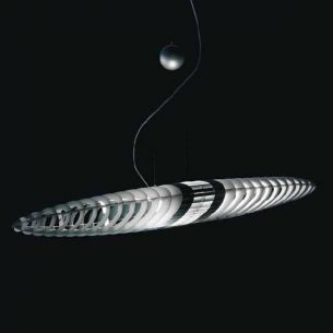 Luceplan TITANIA Zugpendelleuchte Designerleuchte in toller Optik - mit verschiedenen Farbfiltern