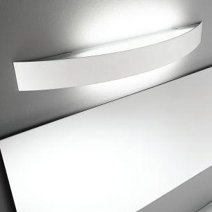 Indirekte Wandleuchte in 40cm Breite 1x 18 Watt, 40,00 cm, 7,00 cm