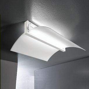 Schicke Deckenleuchte inklusive Energiesparleuchtmittel 55W - in Weiß