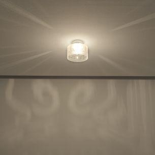 Deckenleuchte in Chrom für tolle Lichteffekte, Durchmesser 20cm, inklusive Osram Leuchtmittel
