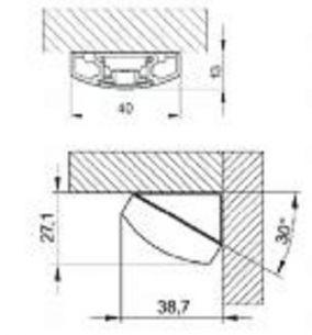 2x 9 Watt, 58,20 cm